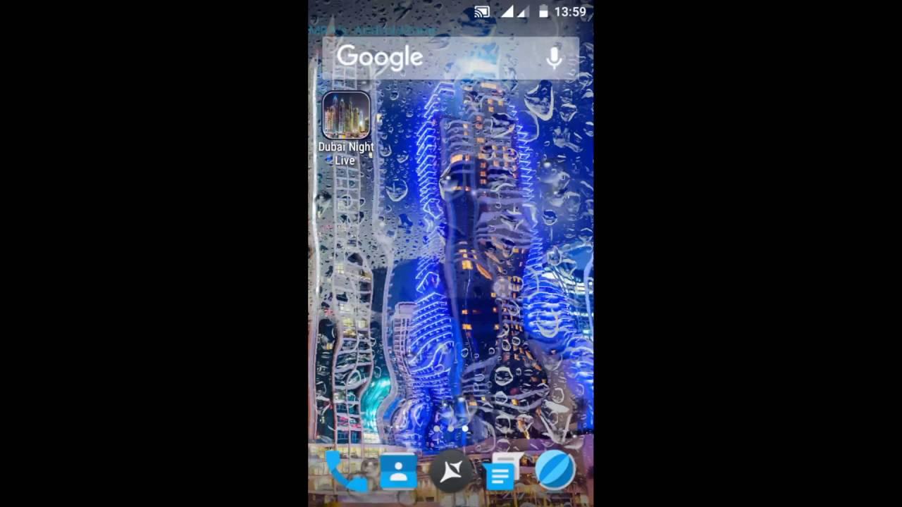 Dubai Night Live Wallpaper Smartphone 928341 Hd