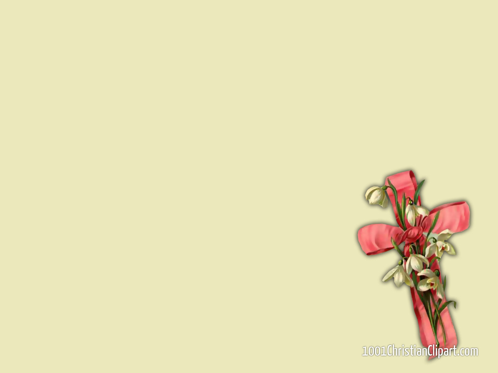 Pink Ribbon Cross Wallpaper Christian Clipart Https Christian