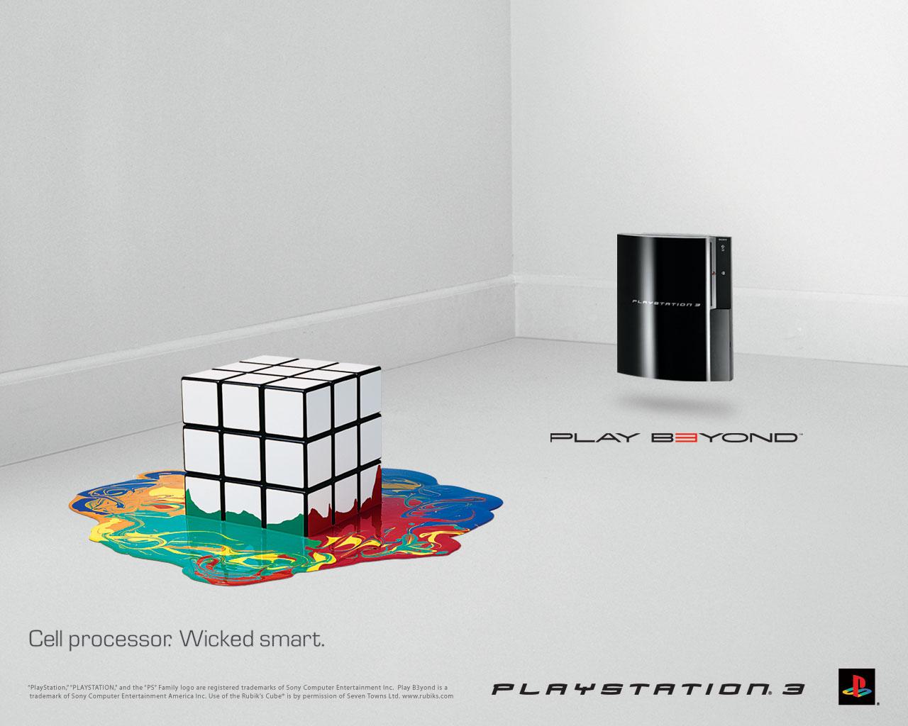 Smart Wallpapers Desktop Px Ps3 Rubiks Cube Commercial