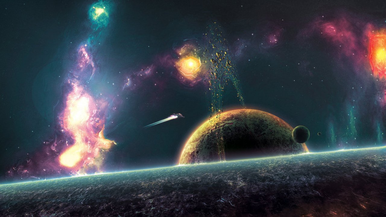 Outer Space , HD Wallpaper & Backgrounds