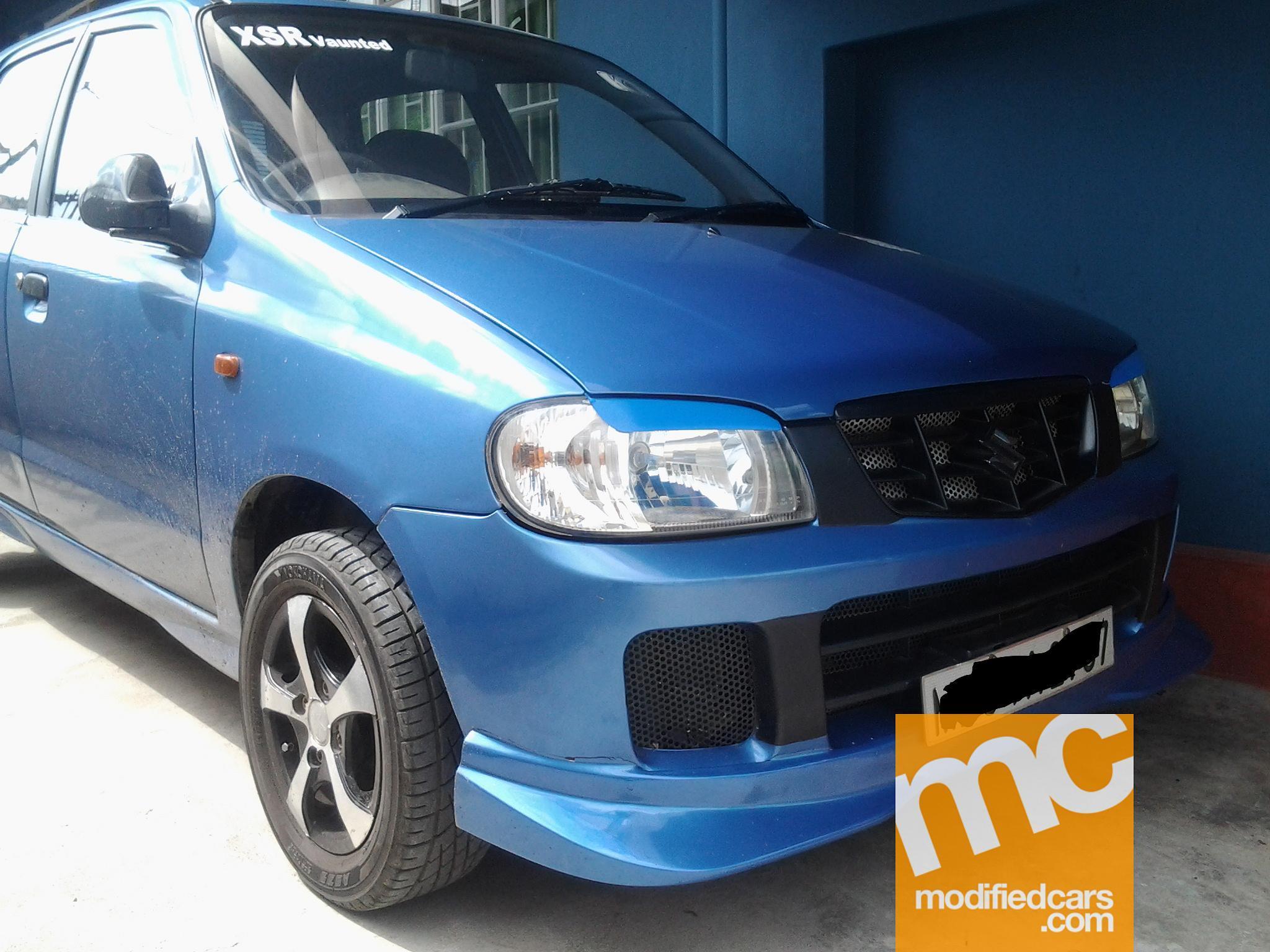 Maruti Suzuki Alto Modified Car Wallpaper Modified Maruti