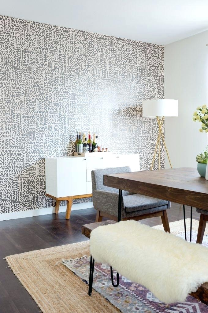 Accent Wall With Wallpaper Bedroom Renovating Ideas Ideas For