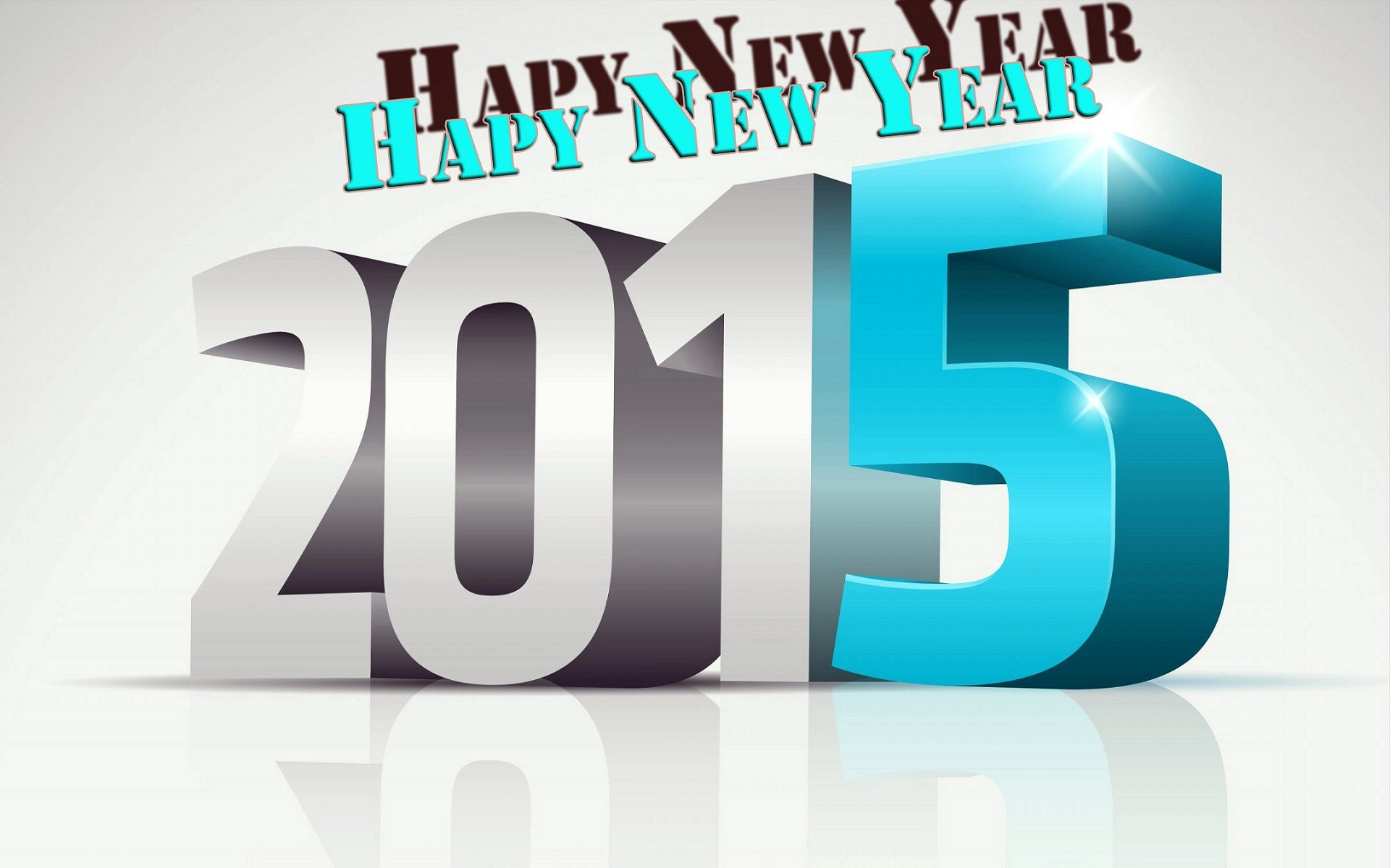 New Year 2015 Hd Wallpaper - Happy New Year 2017 3d Text Png , HD Wallpaper & Backgrounds