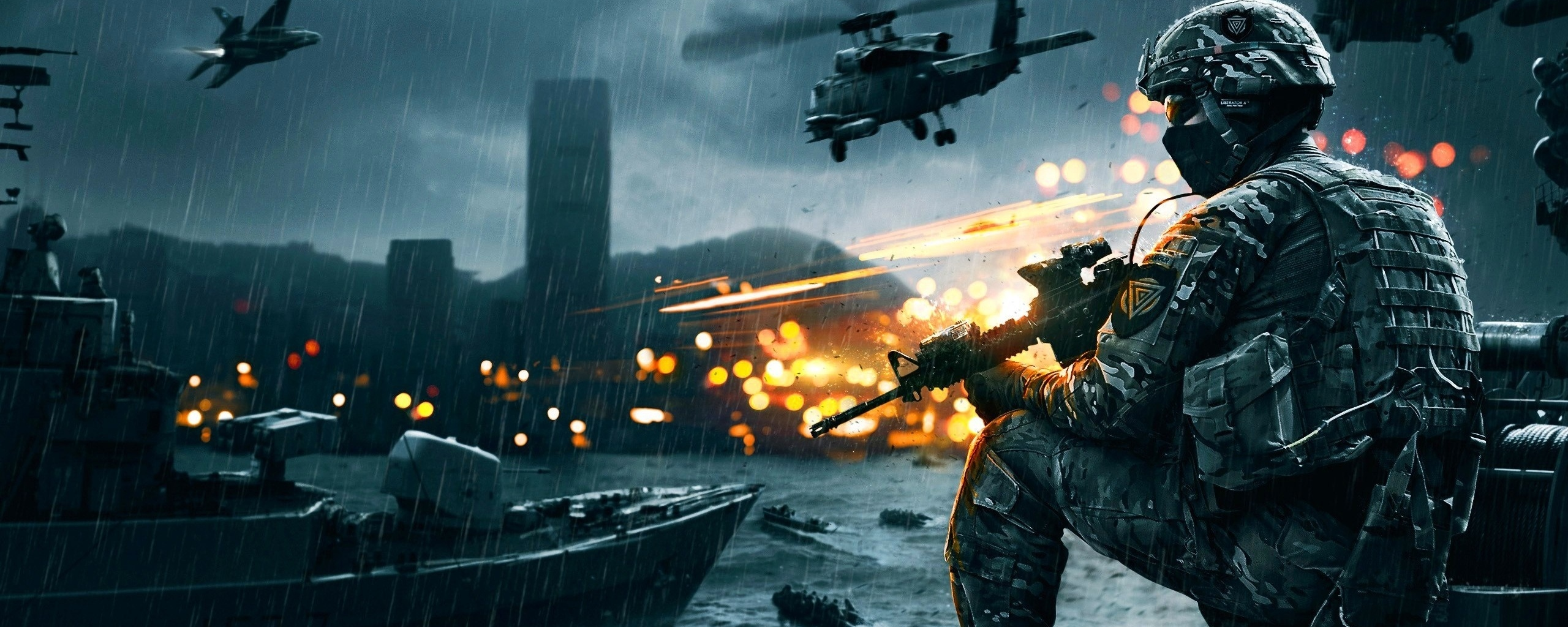 Gaming Wallpapers For Dual Monitors 3 Battlefield 4 942334
