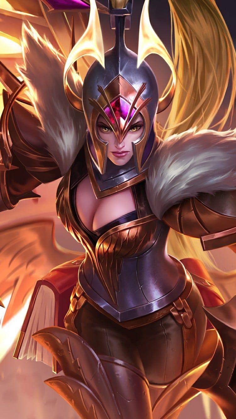 Nova Skin Wallpaper Mobile Freya War Angel Mobile Legend