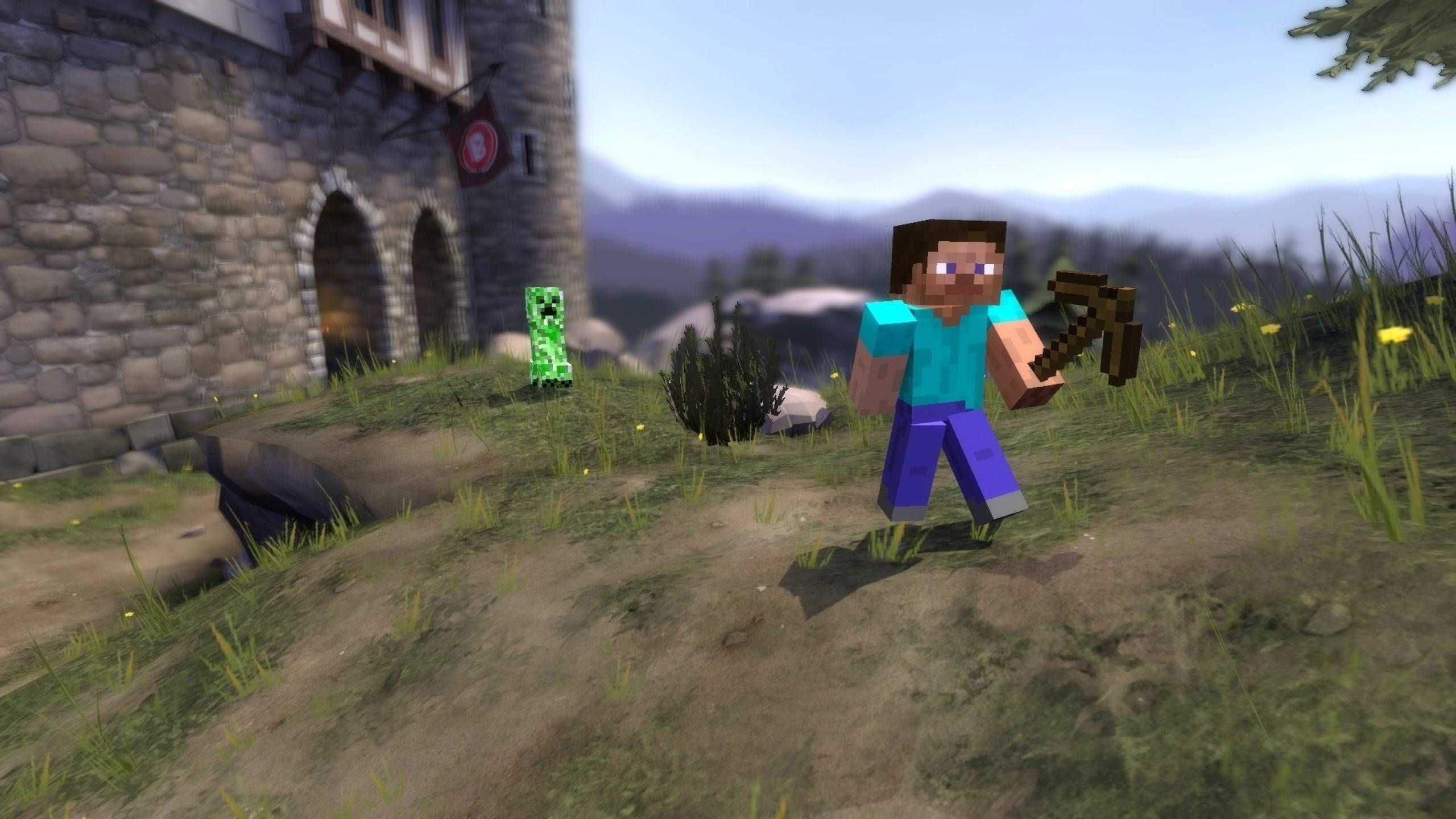 Minecraft Gmod Background 943329 Hd Wallpaper Backgrounds