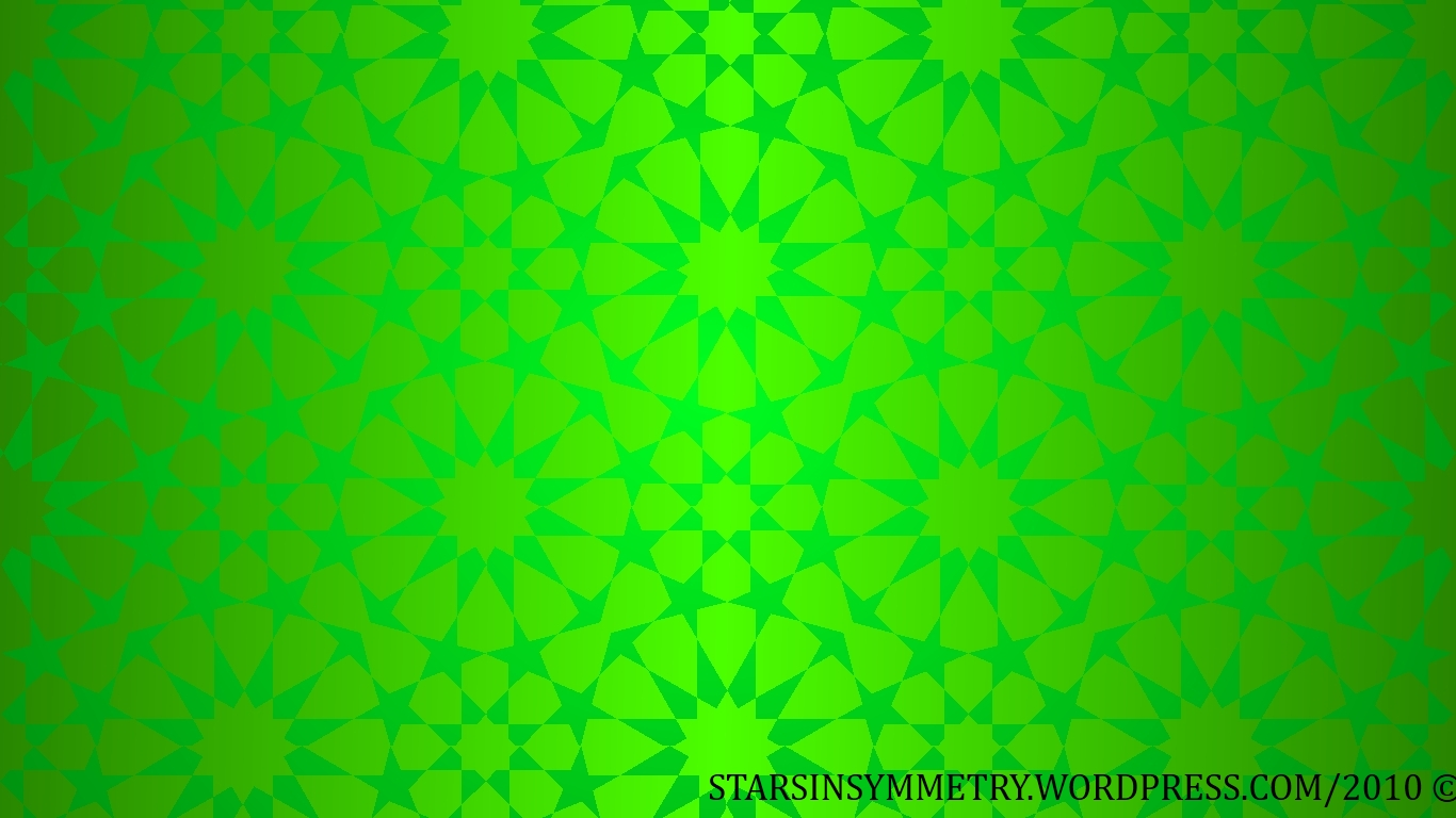 This Is The Green Wallpaper Background Islamic 944209