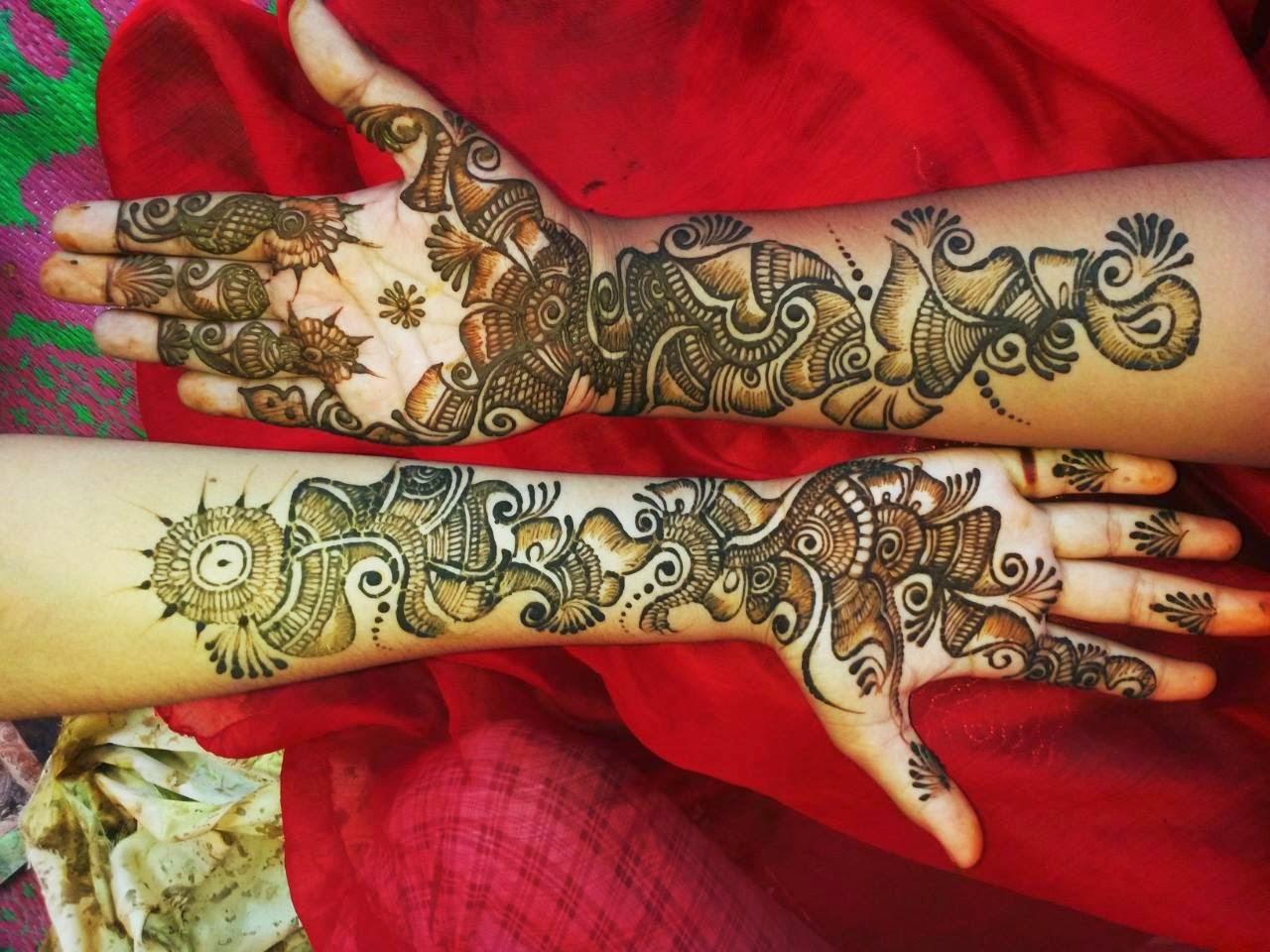 Bridal Mehndi Designs Henna Art Of Mehndi Designs - Arabic Dulhan Mehndi Design , HD Wallpaper & Backgrounds
