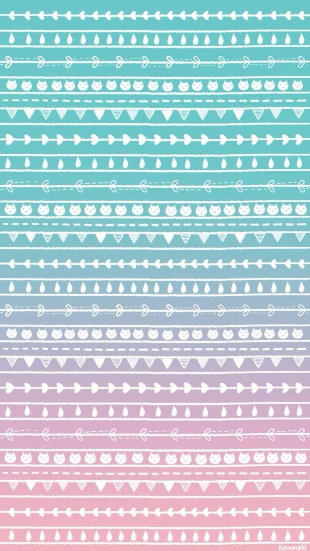 Pastel Ombre Background With Pattern 948149 Hd