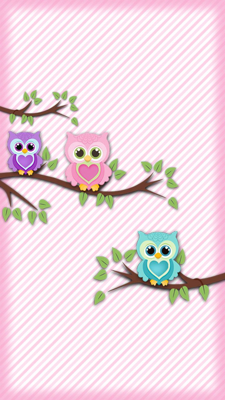 Cute Cartoon Owl Wallpaper Cute Owl Wallpaper For Android