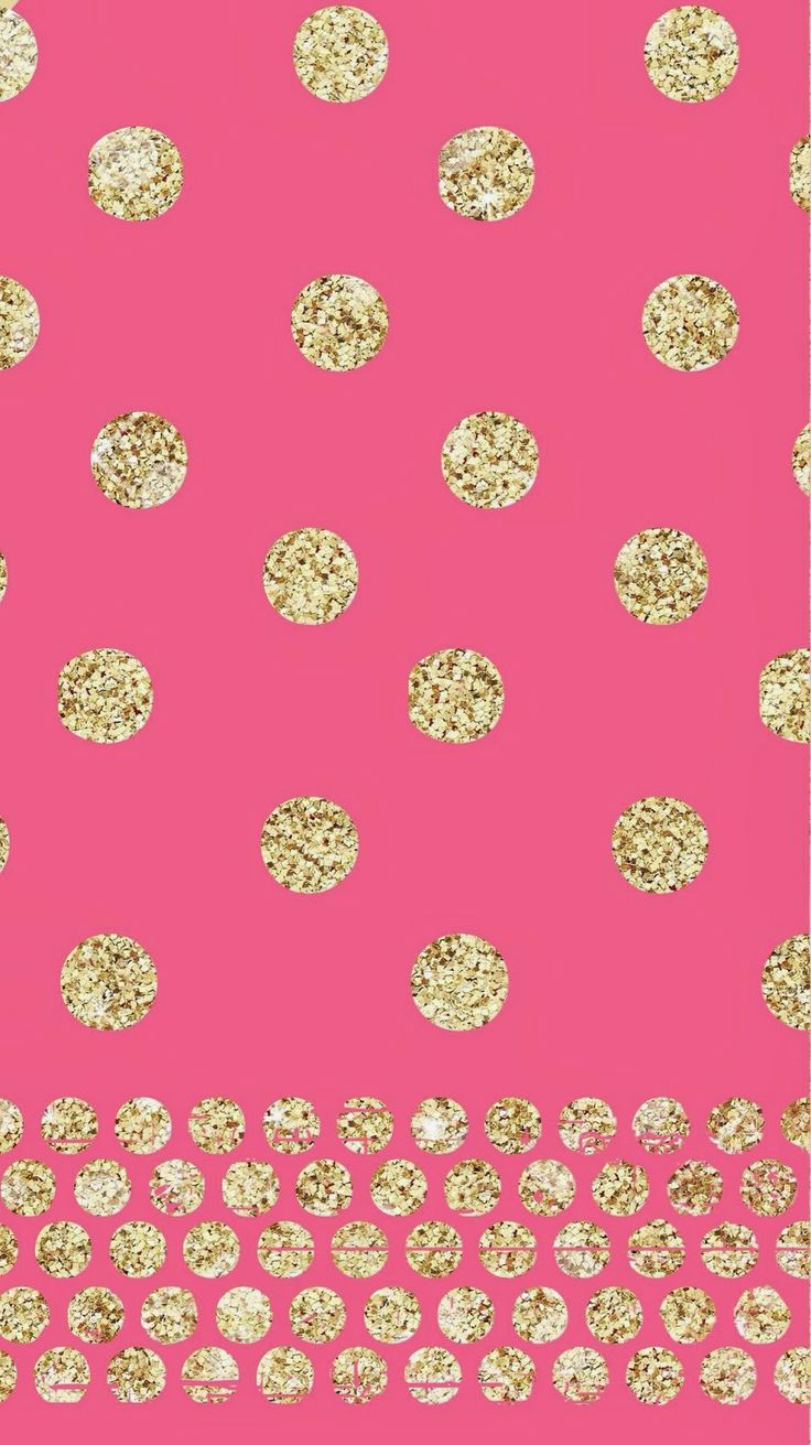 78 Images About Girly Wallpapers On Pinterest - Pink And Gold Iphone 6 , HD Wallpaper & Backgrounds