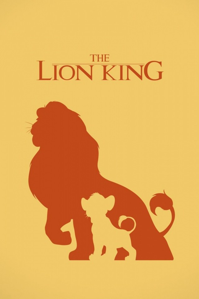The Lion King Mobile Wallpaper Mobiles Wall - Lion King Silhouette , HD Wallpaper & Backgrounds