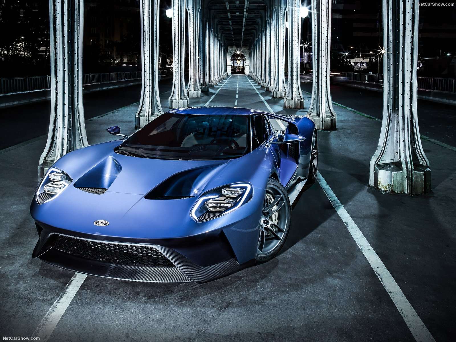 Ford Gt Images Ford Gt 2017 Blue Hd Wallpaper And Background