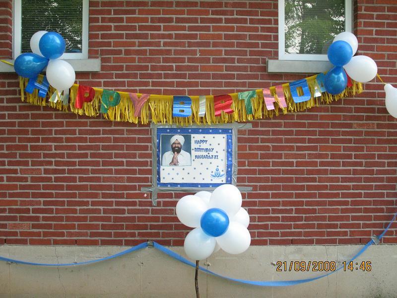 Birthday Celebration Of Sant Rajinder Singh Ji Maharaj - Balloon , HD Wallpaper & Backgrounds