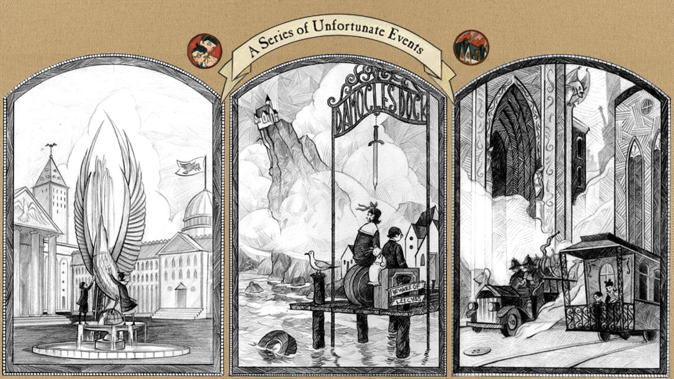 A Series Of Unfortunate Events Wallpaper Series Of Unfortunate