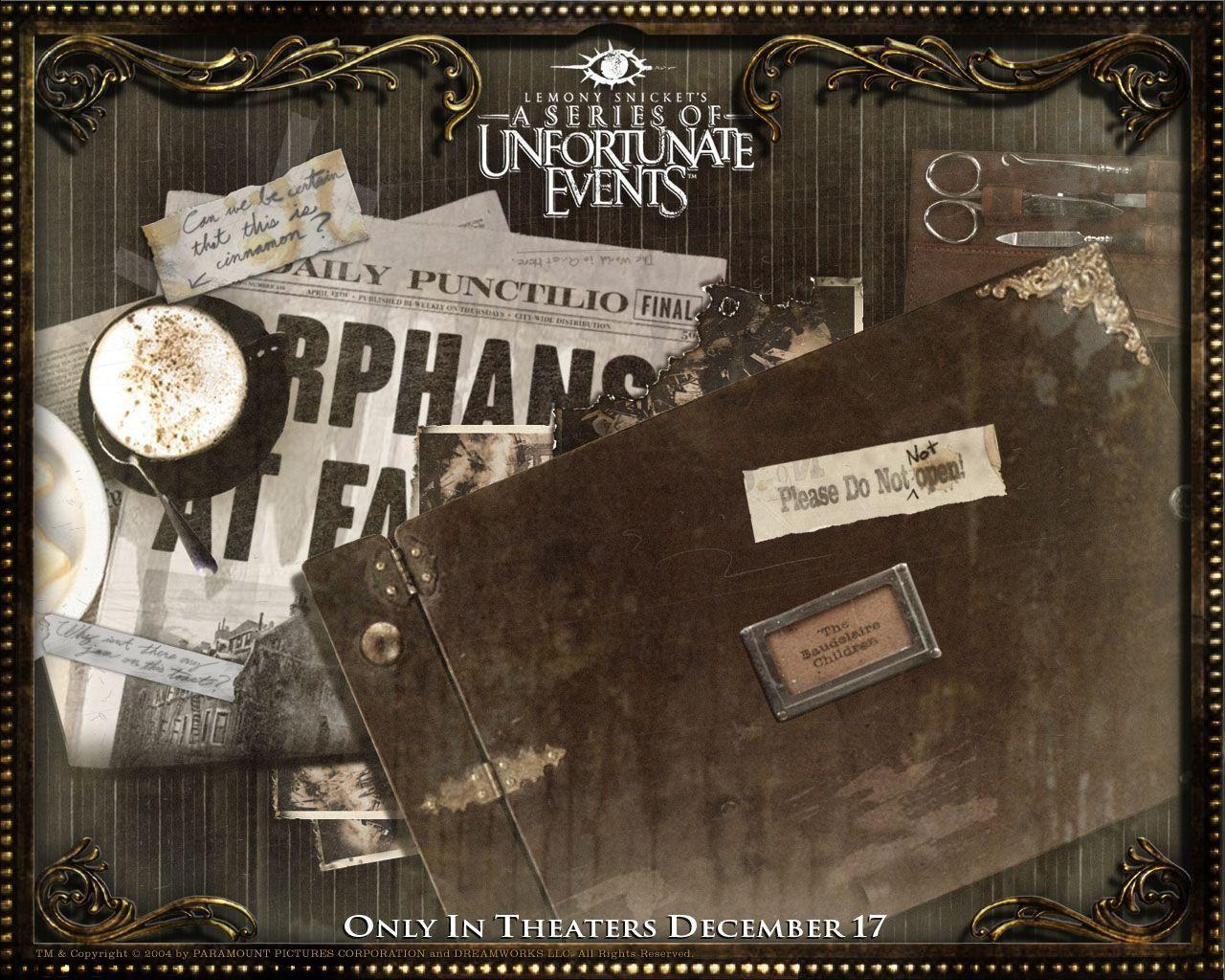A Series Of Unfortunate Events Wallpapers Wallpaper Series Of