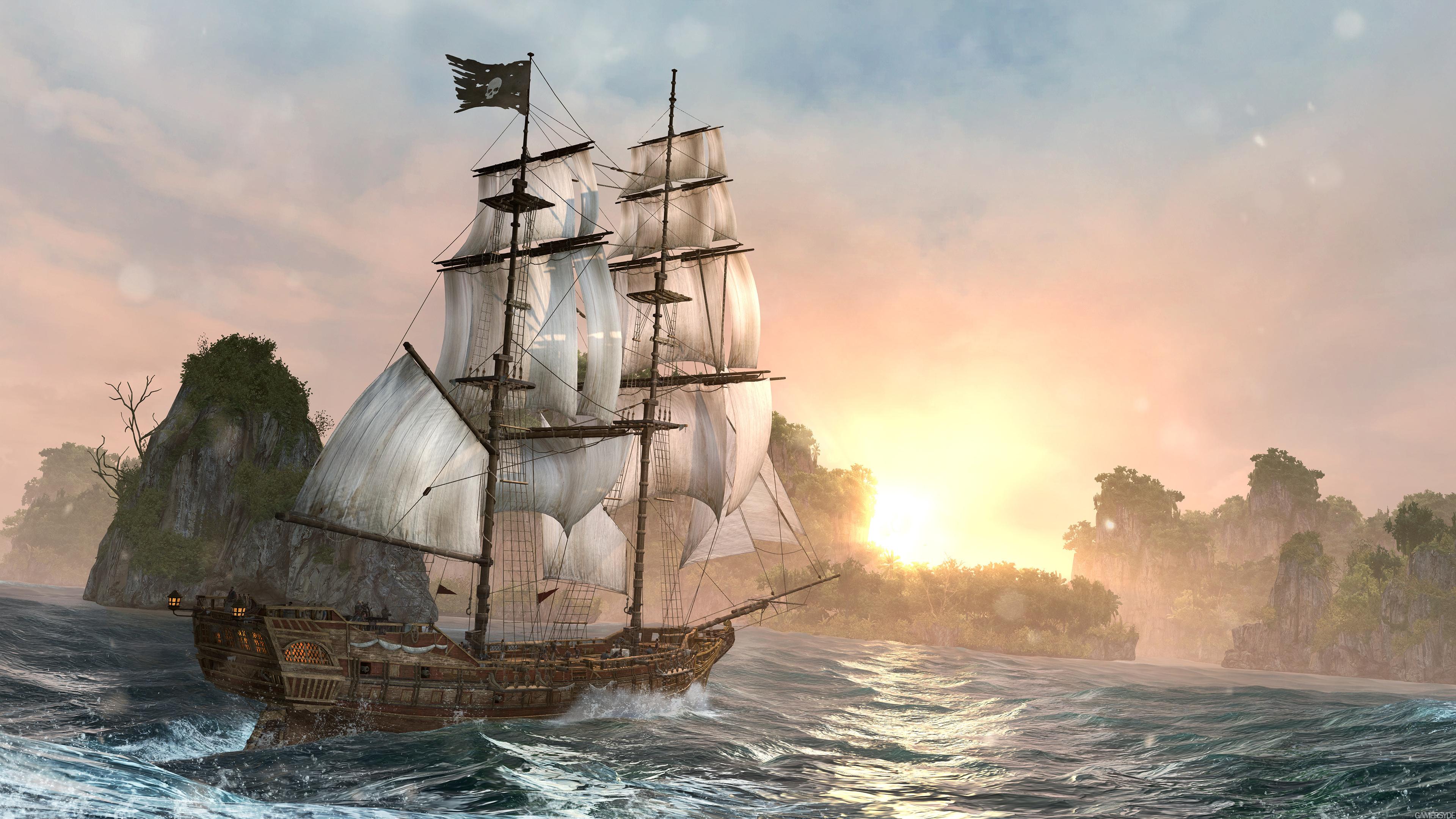 Hd Wallpaper Assassins Creed Black Flag 4k 961025 Hd