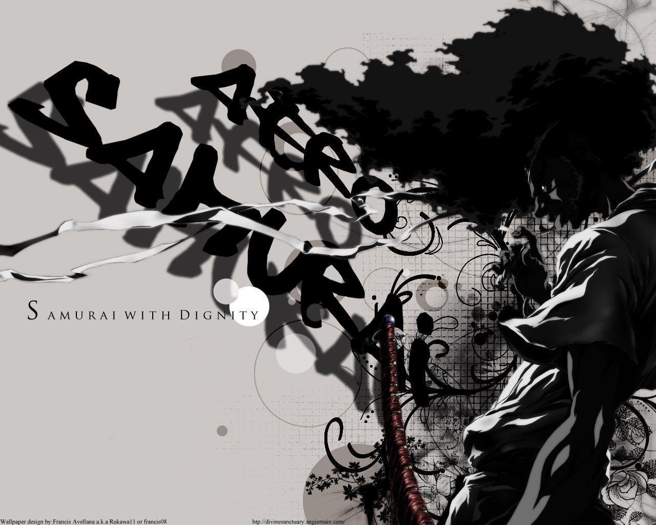 Afro Samurai Wallpaper Hd , HD Wallpaper & Backgrounds
