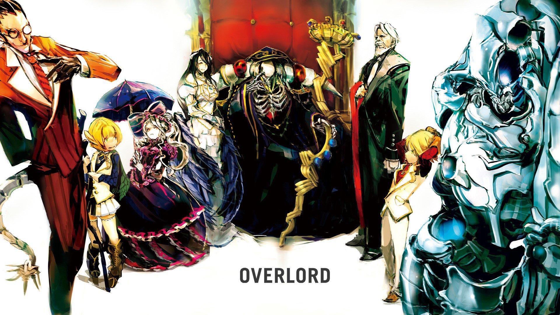 Hd Wallpaper - Overlord Wallpaper Anime Hd , HD Wallpaper & Backgrounds