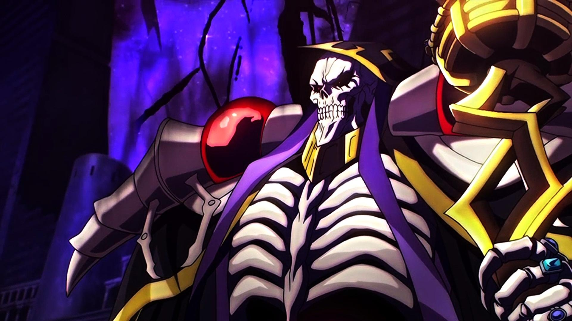 Overlord Hd Wallpaper Ainz Ooal Gown 965199 Hd Wallpaper Backgrounds Download