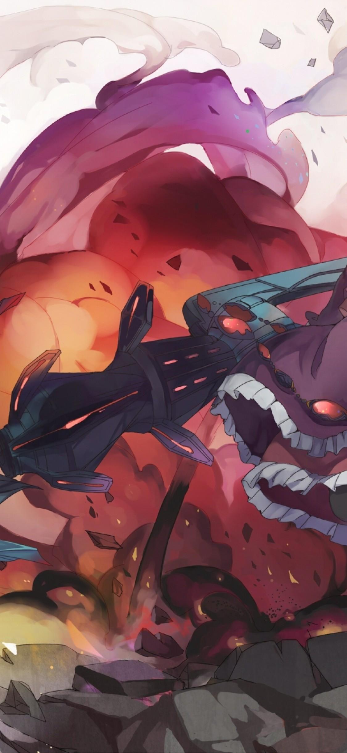 Shalltear Bloodfallen Overlord Dress Red Eyes Fang Shalltear Bloodfallen 965337 Hd Wallpaper Backgrounds Download