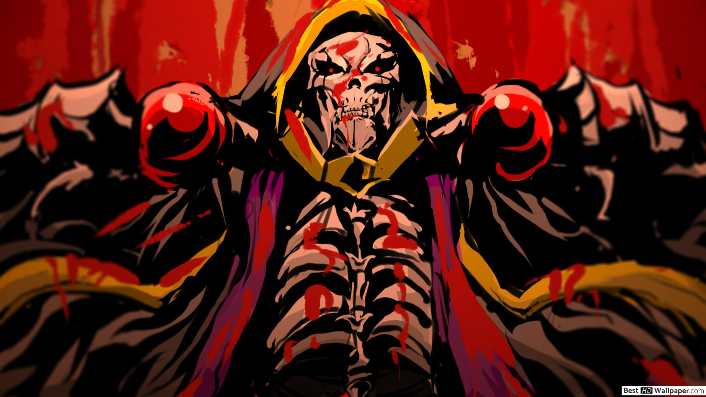 Download Ainz Ooal Gown From Overlord Wallpaper Overlord Art Ainz Ooal Gown 965573 Hd Wallpaper Backgrounds Download
