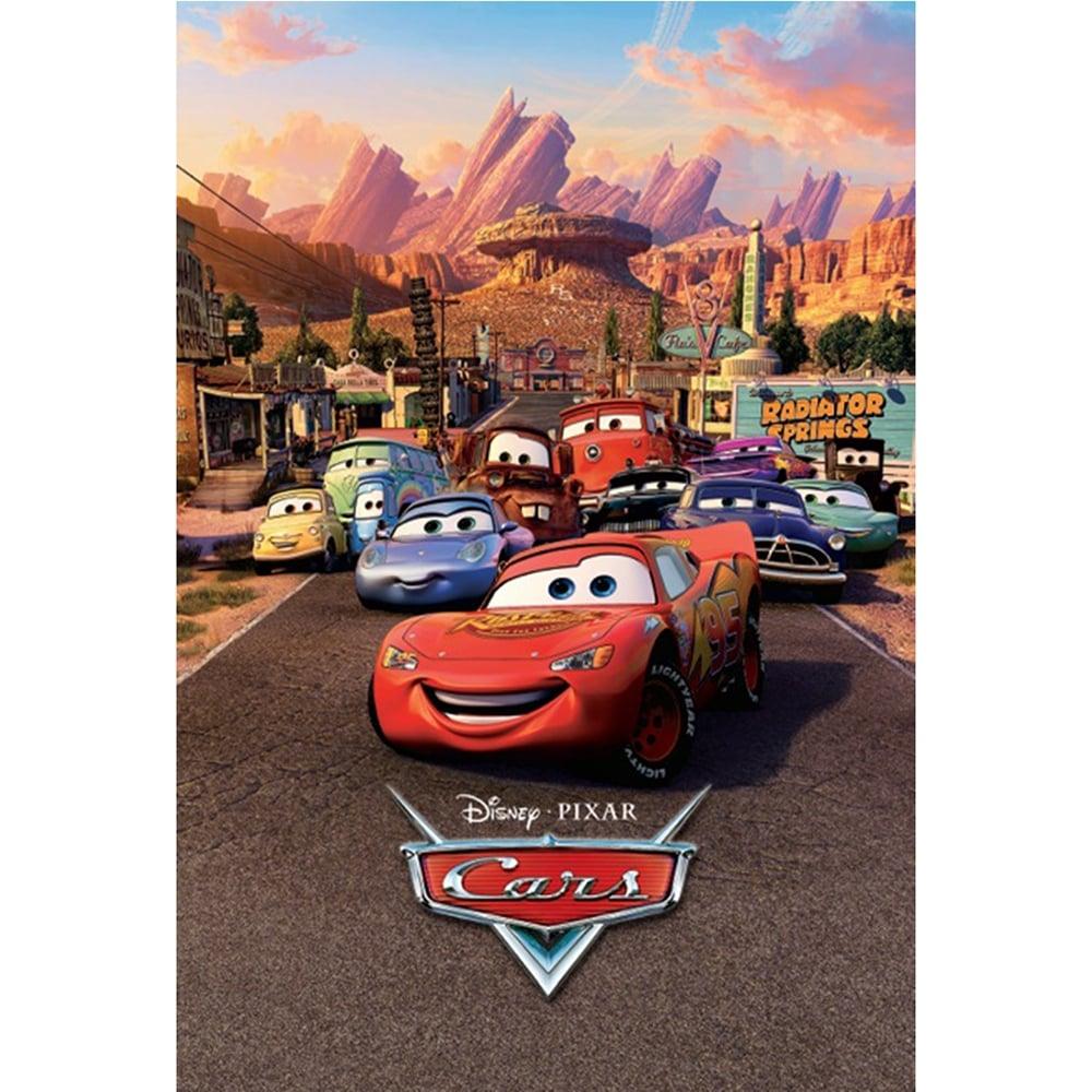 Disney Cars Lightning Mcqueen Feature Wall Wallpaper