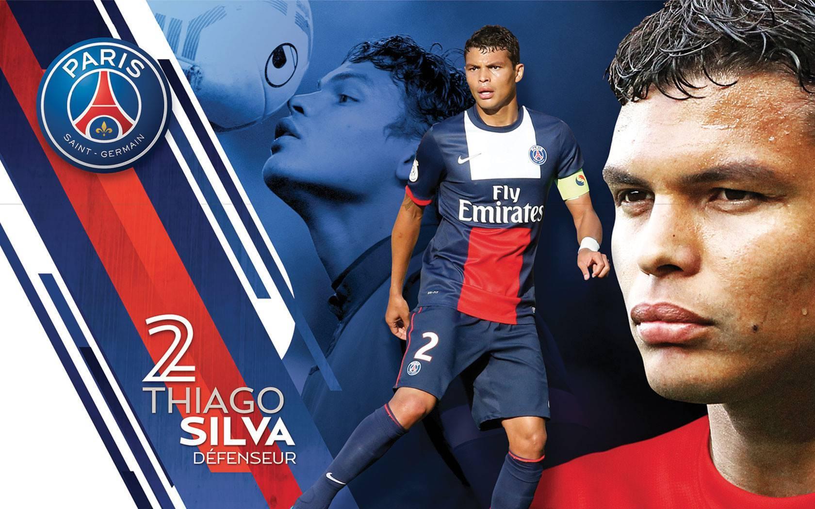 Thiago Silva Wide Wallpaper - Thiago Silva Logo , HD Wallpaper & Backgrounds
