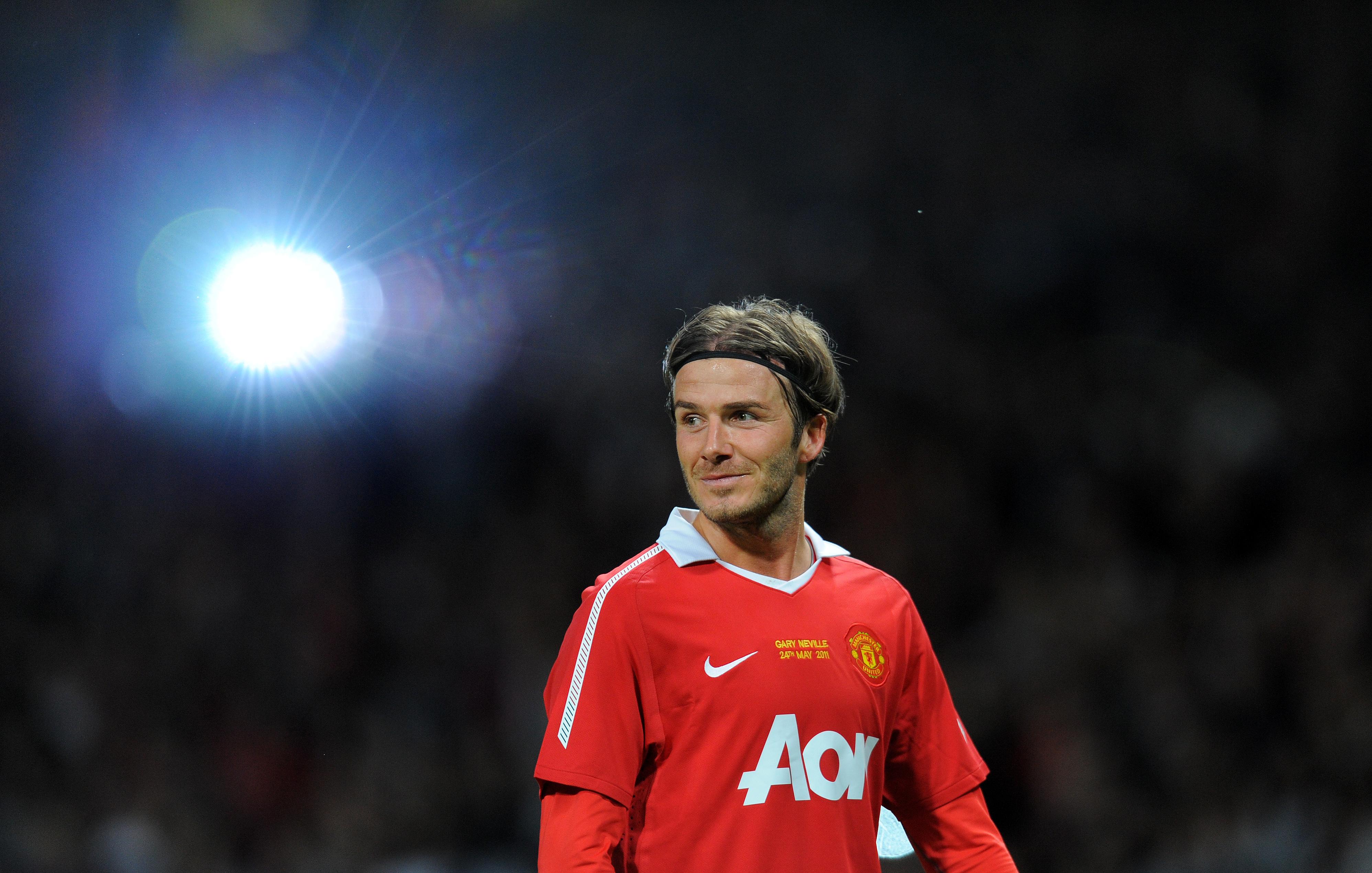 Soccer Manchester United F David Beckham Manchester