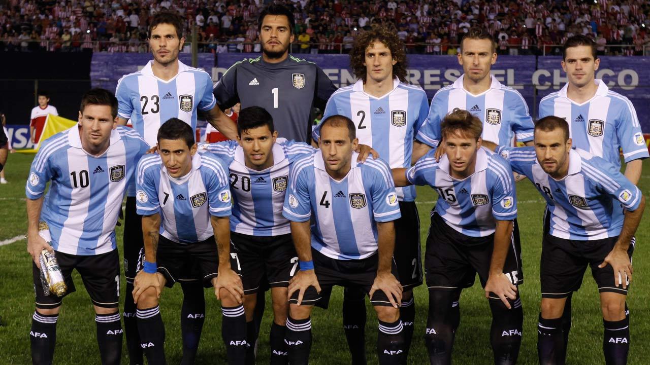 Argentina National Football Team Wallpaper - Argentina 2014 World Cup Team , HD Wallpaper & Backgrounds