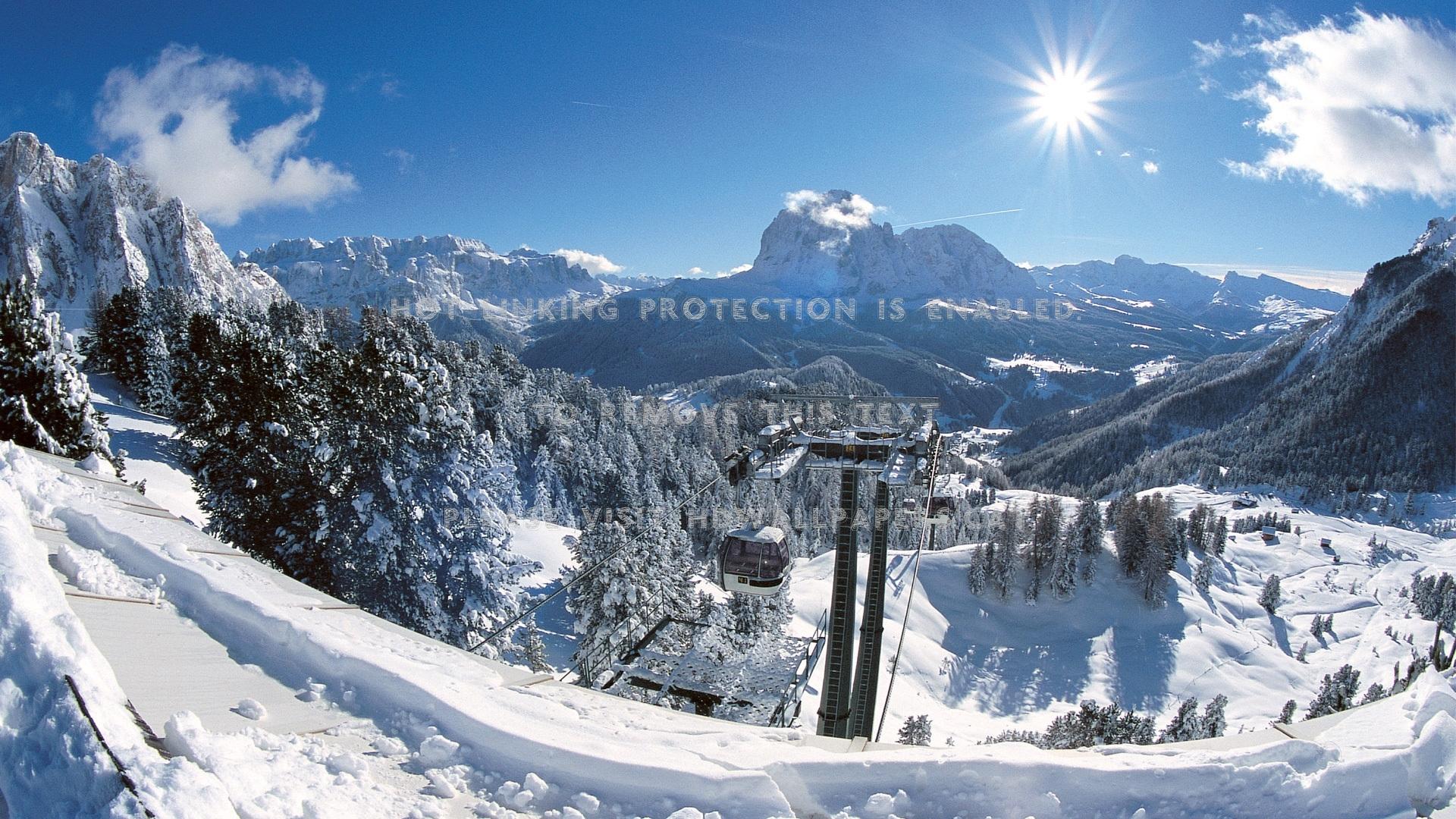 Trentino Alto Adige Piste Da Sci (#976833) - HD Wallpaper & Backgrounds  Download