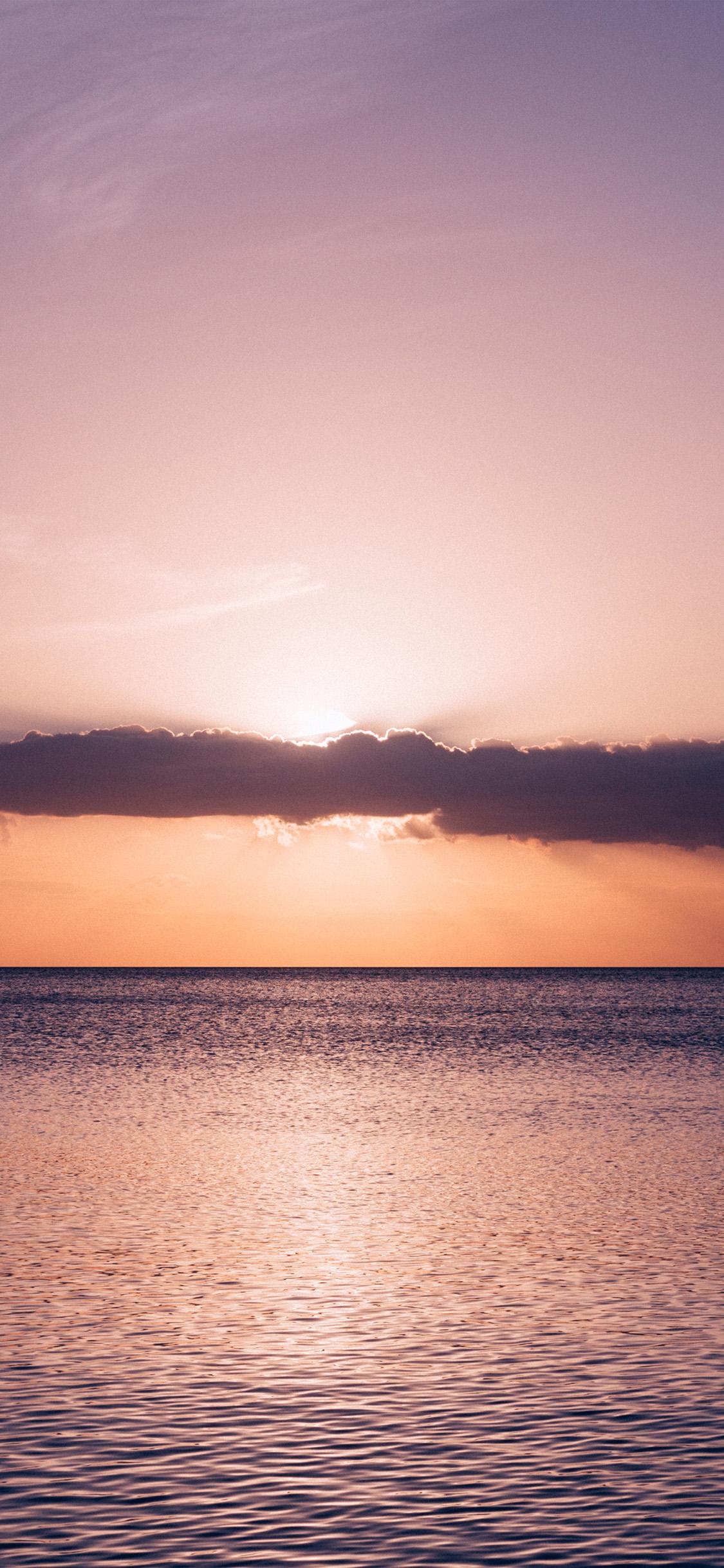Iphone X - Sea Beach Wallpaper Iphone Sunset , HD Wallpaper & Backgrounds