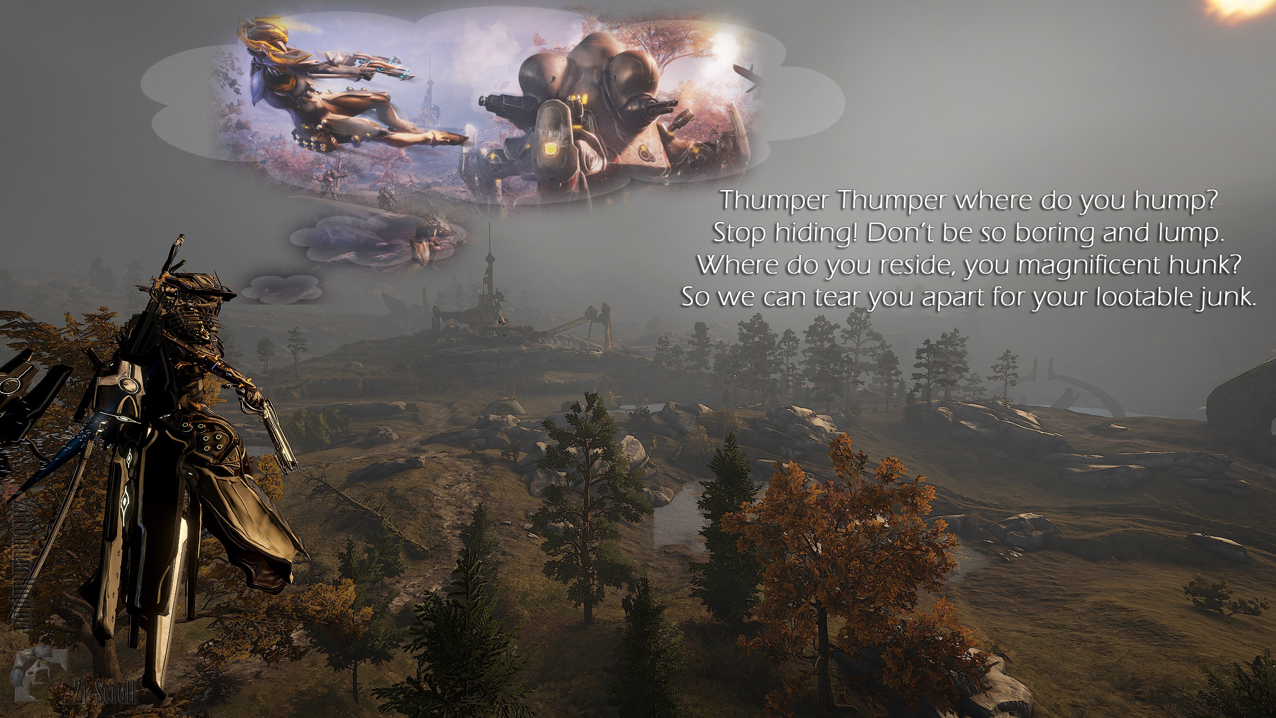 Warframe - Pc Game , HD Wallpaper & Backgrounds