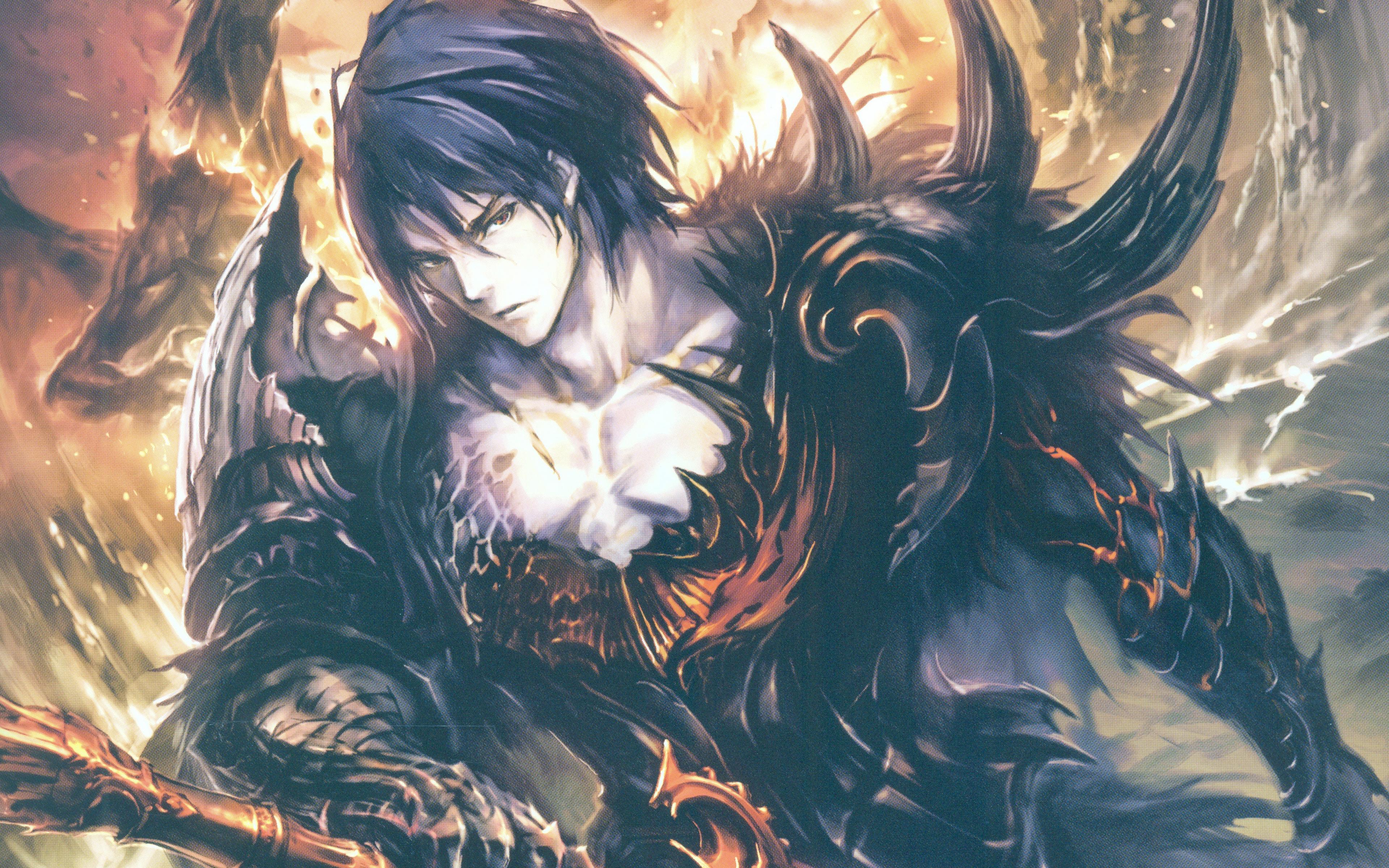 Beowulf 4k Rage Of Bahamut Shingeki No Bahamut Loki Shingeki