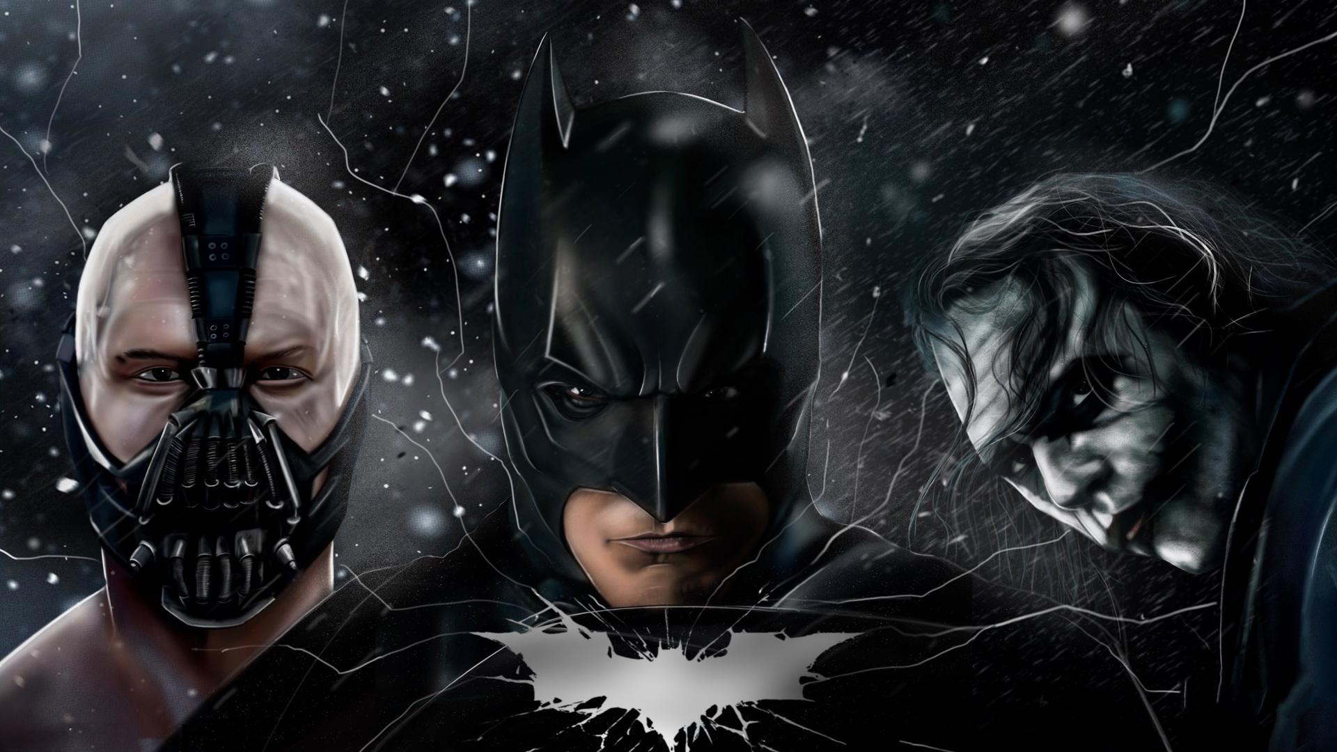 The Dark Knight Batman Joker Bane 5k Batman The Dark Knight 4k