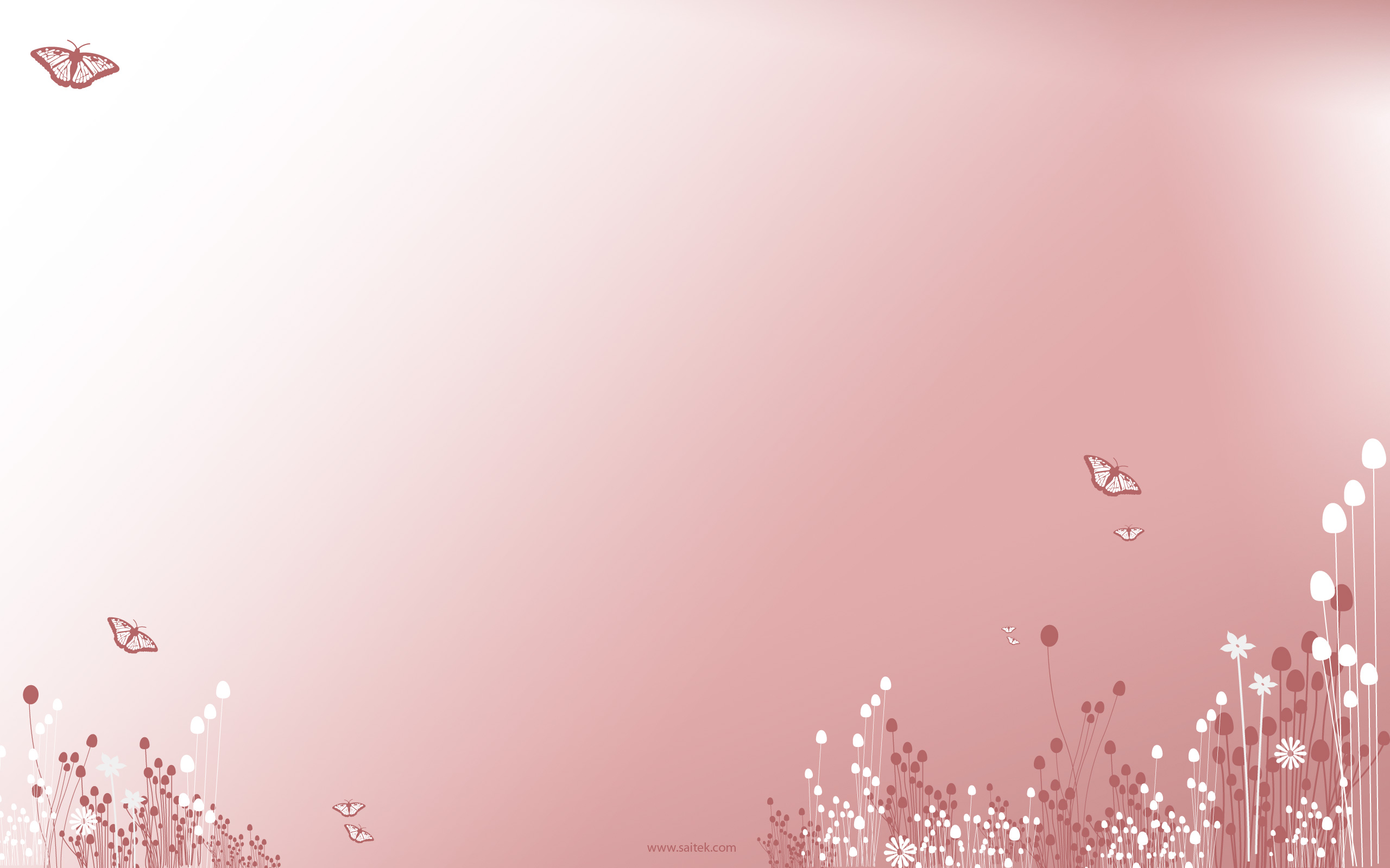 Pastel Pink Background Butterflies , HD Wallpaper & Backgrounds