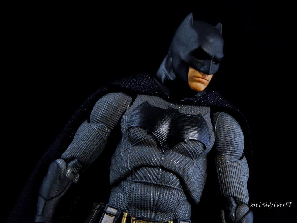 Batman Mafex Version Tags Custom Ben Affleck Batman Figure