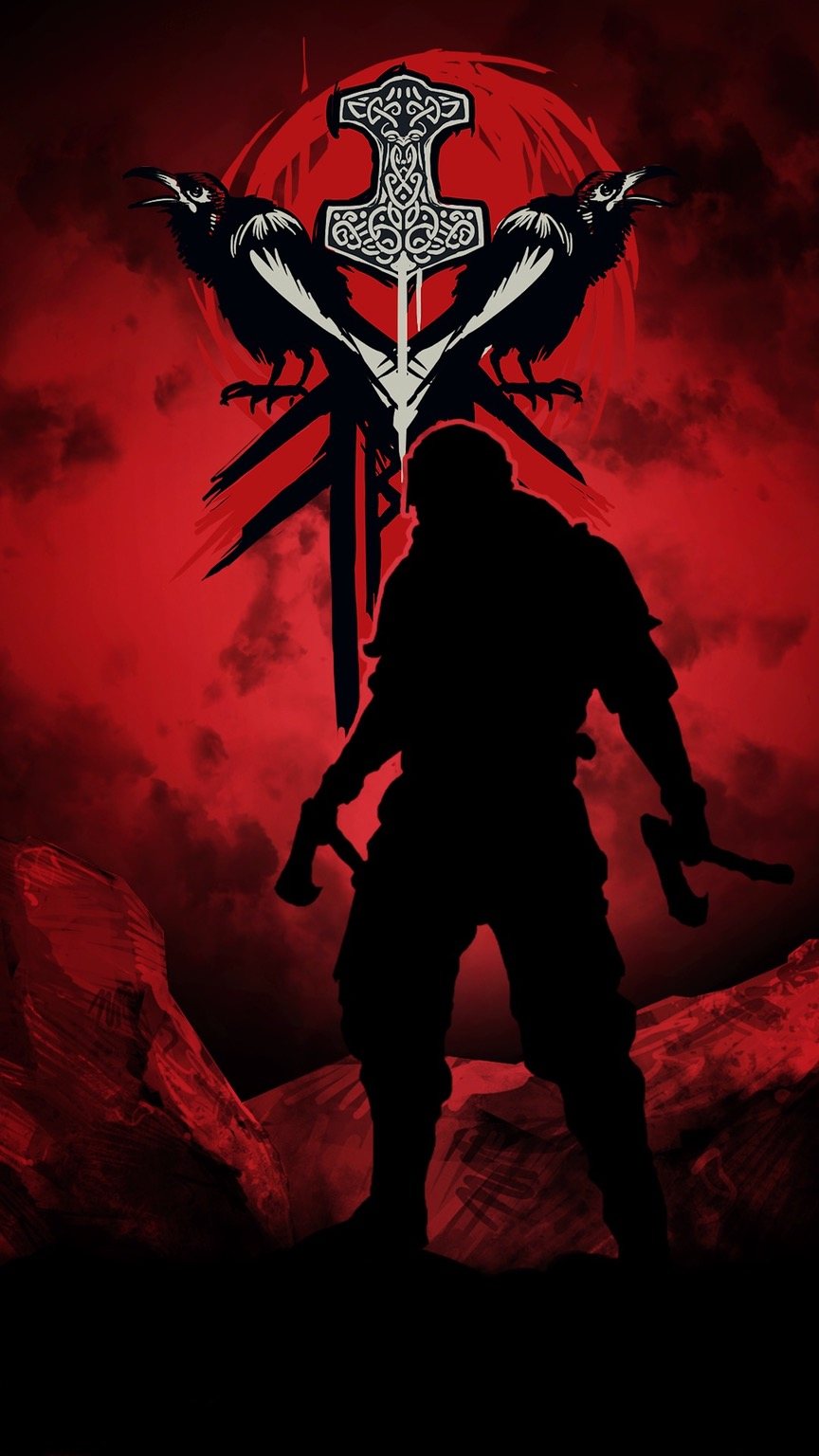 Berserk Mobile Wallpaper - Honor Viking , HD Wallpaper & Backgrounds
