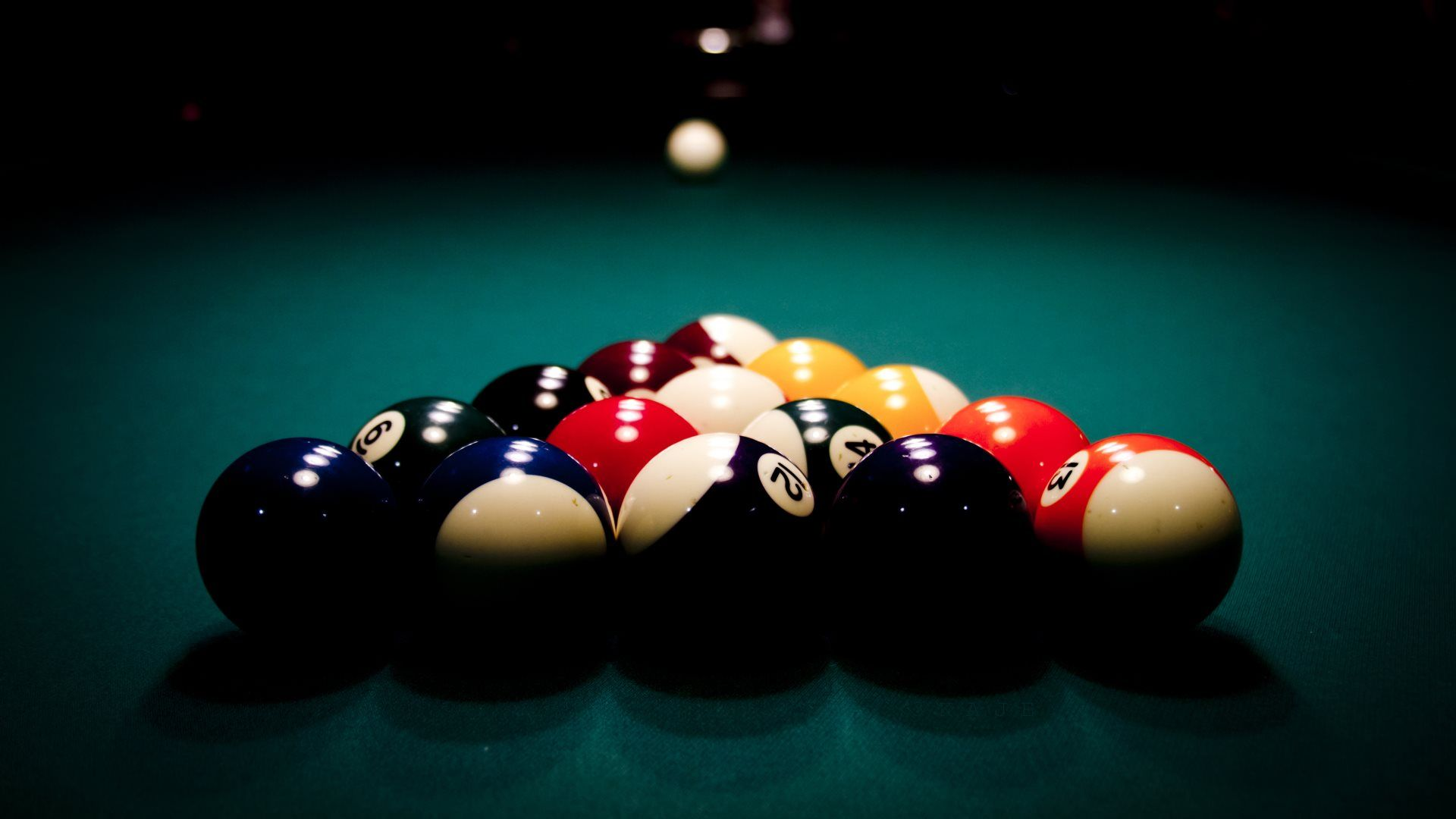 Snooker And Pool Wallpapers - 8 Ball Pool Hd , HD Wallpaper & Backgrounds