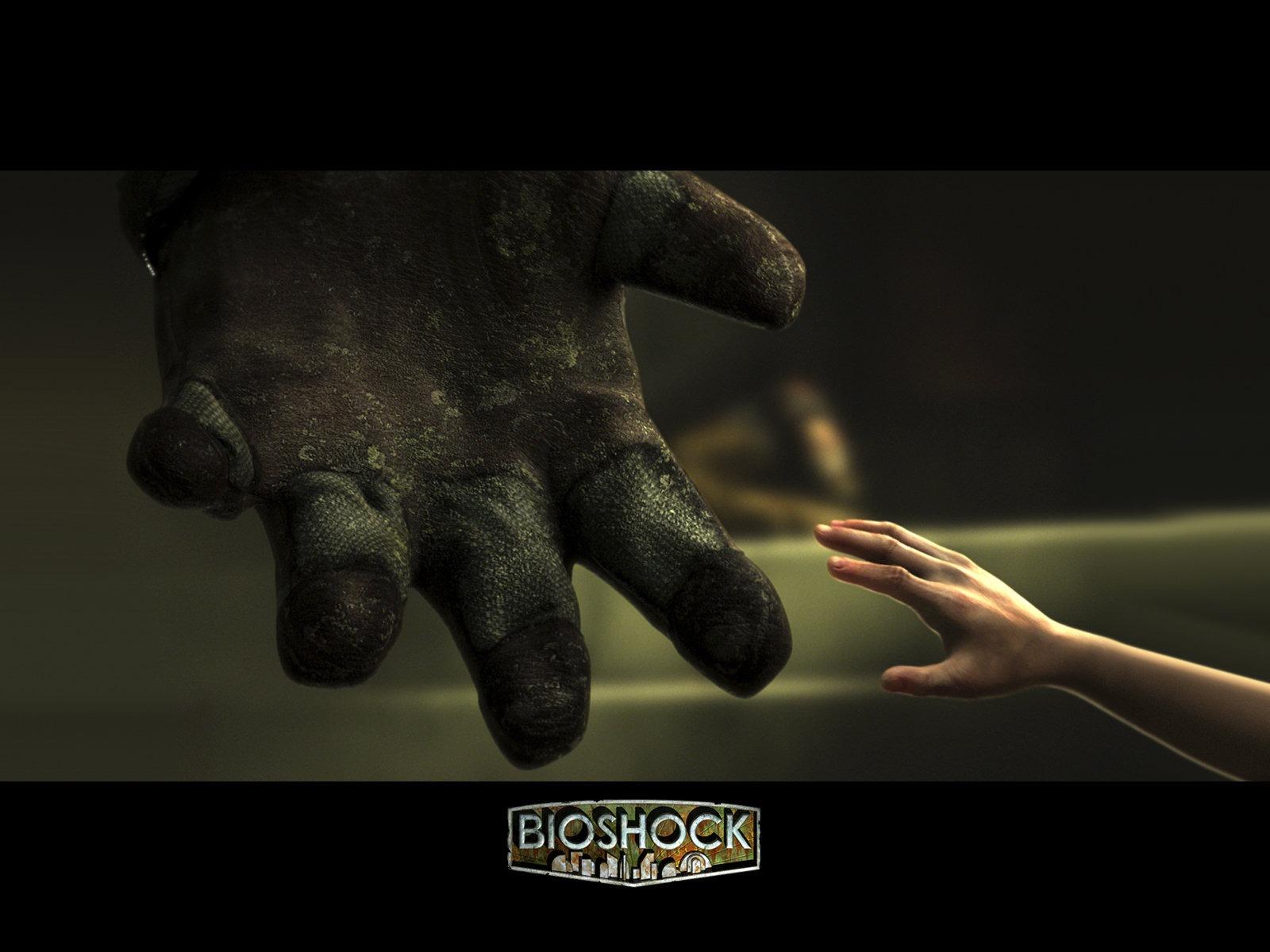 Bioshock Hand Desktop Wallpaper Bioshock Little Sister Big