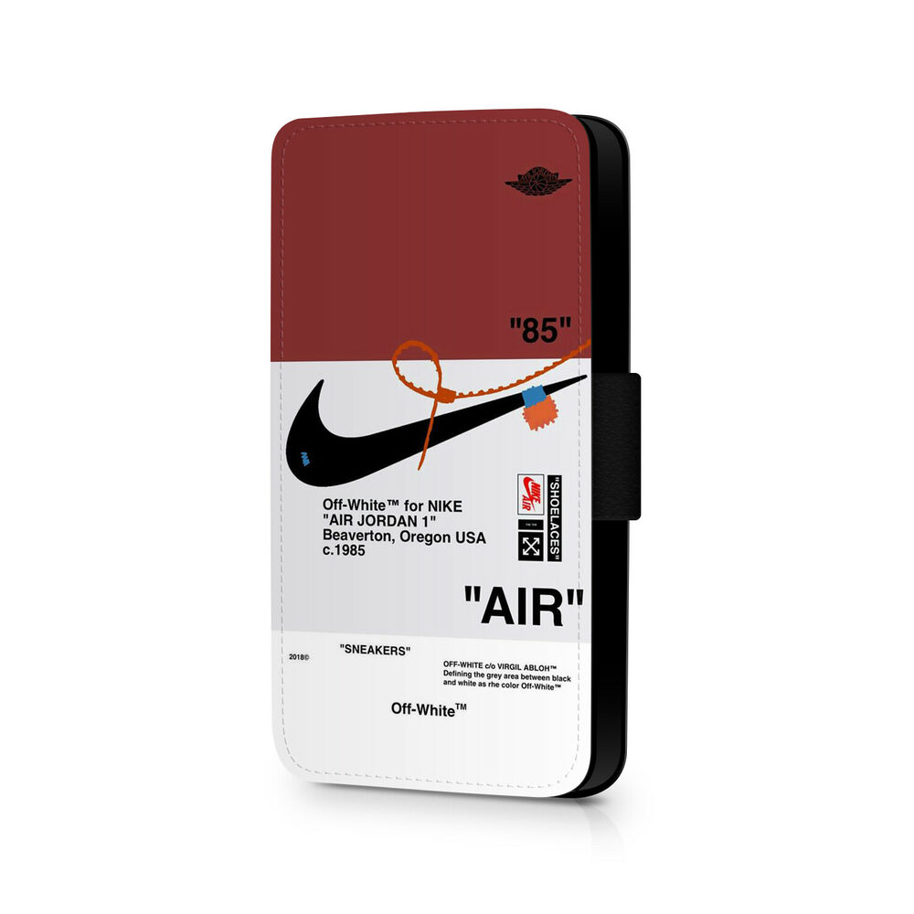 Details About Off White Phone Flip Case Nike Air Wallpaper