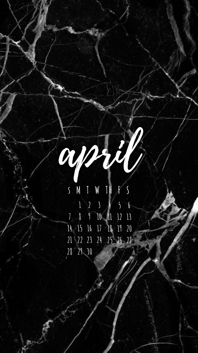 April 2019 Calendar Phone Wallpaper, April 2019 Calendar - Broken Glass Wallpapers For Iphone , HD Wallpaper & Backgrounds