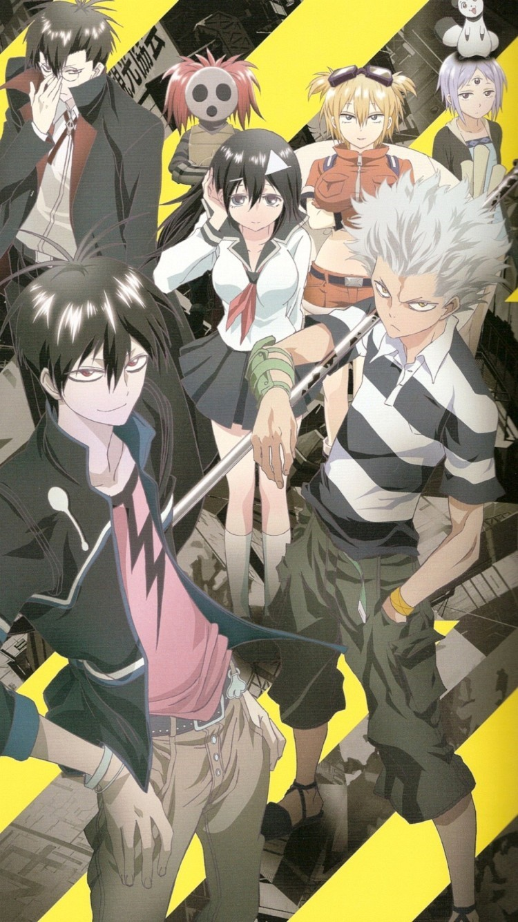 Wallpapers Para Iphone 6 Blood Lad Anime 4 7 Polegadas Blood Lad