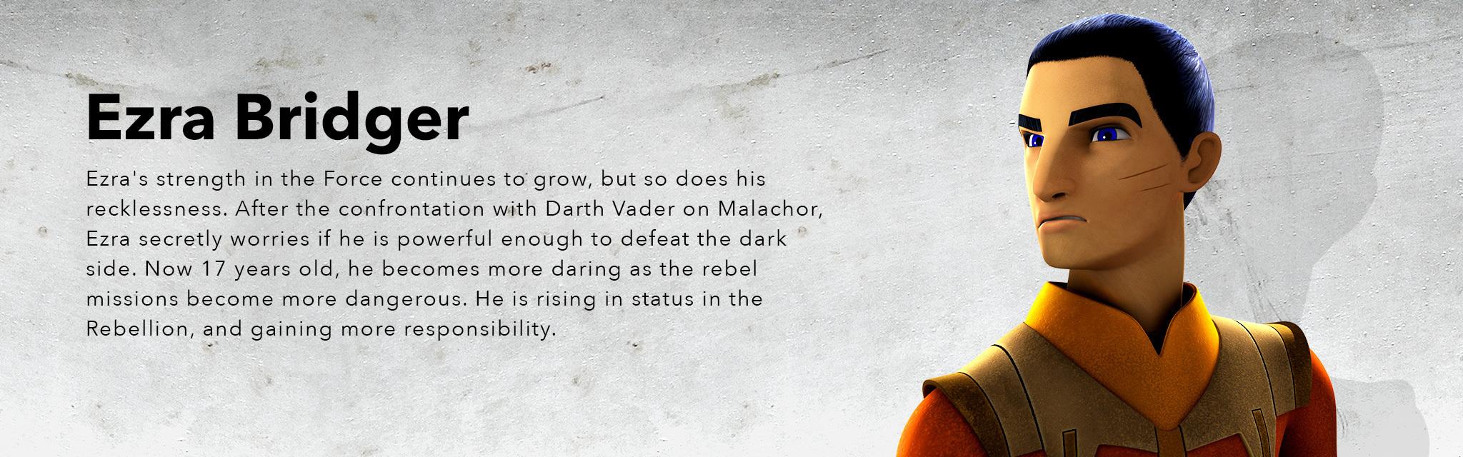 Star Wars Rebels Season 3 Ezra Bridger Bio Star Wars Rebels