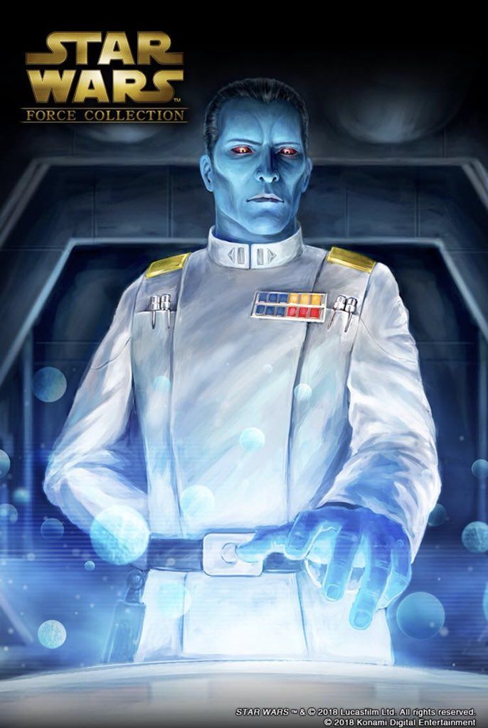 Force Collection Grand Admiral Thrawn Art 993537 Hd Wallpaper Backgrounds Download
