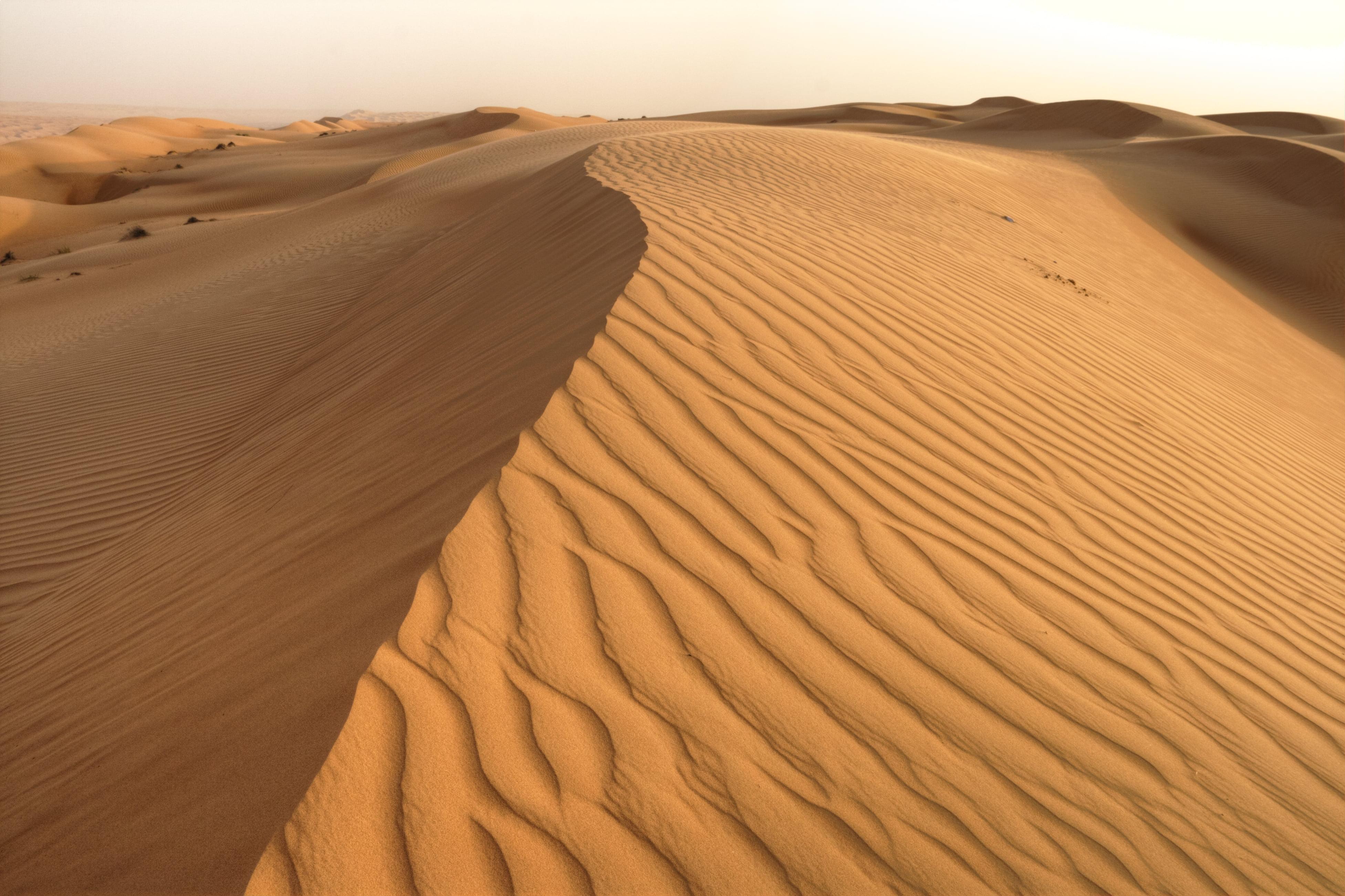 Landscape Photography Of Desert, Oman Hd Wallpaper - Natural Landscape Photography Desert , HD Wallpaper & Backgrounds