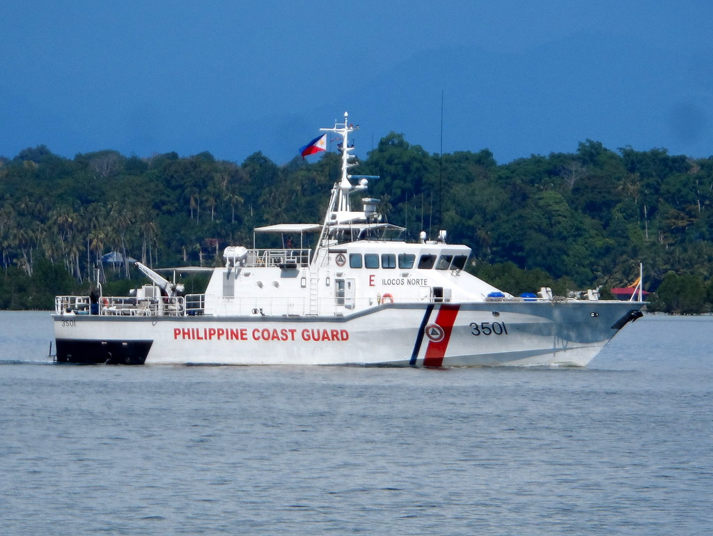 Philippine Coast Guard Survey Vessel 999329 Hd Wallpaper